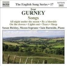 Ivor Gurney (1890-1937): Klavierlieder, CD