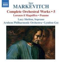 Igor Markevitch (1912-1983): Sämtliche Orchesterwerke Vol.5, CD