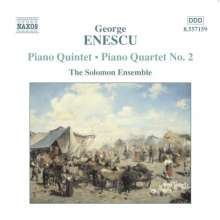 George Enescu (1881-1955): Klavierquintett op.29, CD