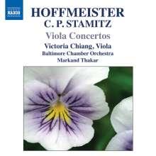 Franz Anton Hoffmeister (1754-1812): Violakonzerte in D & B, CD