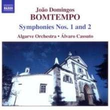 Joao Domingos Bomtempo (1775-1842): Symphonien Nr.1 & 2, CD