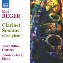 Max Reger (1873-1916): Sonaten für Klarinette & Klavier Nr.1-3, CD