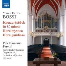 Marco Enrico Bossi (1861-1925): Konzertstück c-moll op.130a für Orgel, CD