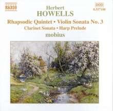 Herbert Howells (1892-1983): Rhapsodisches Quintett für Klarinette & Streichquartett, CD