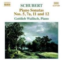 Franz Schubert (1797-1828): Klaviersonate D.557,567 (unvollständig), CD