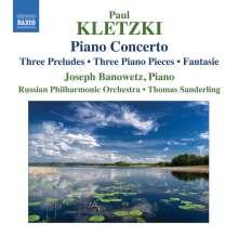 Paul Kletzki (1900-1973): Klavierkonzert d-moll op.22, CD