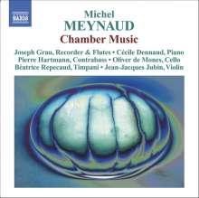 Michel Meynaud (geb. 1950): Kammermusik, CD