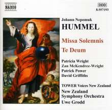 Johann Nepomuk Hummel (1778-1837): Missa Solemnis C-Dur, CD