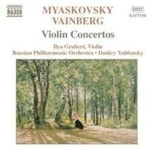 Nikolai Miaskowsky (1881-1950): Violinkonzert op.44, CD
