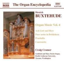 Dieterich Buxtehude (1637-1707): Orgelwerke Vol.4, CD