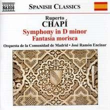 Ruperto Chapi (1851-1909): Symphonie d-moll, CD