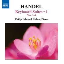 Georg Friedrich Händel (1685-1759): Cembalosuiten Vol.1, CD