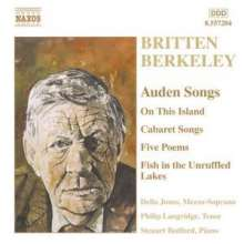 Benjamin Britten (1913-1976): W.H.Auden-Settings, CD