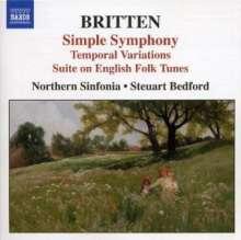 Benjamin Britten (1913-1976): Simple Symphony op.4, CD
