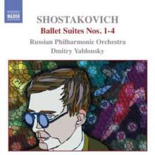 Dimitri Schostakowitsch (1906-1975): Ballettsuiten Nr.1-4, CD