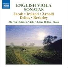 Martin Outram & Julian Rolton - English Viola Sonatas, CD