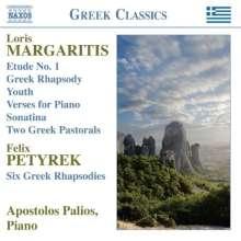 Loris Margaritis (1895-1953): Klavierwerke, CD