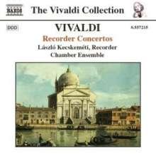 Antonio Vivaldi (1678-1741): Flötenkonzerte RV 87,92,94,101,103,105,108, CD
