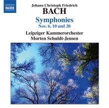 Leipzig Chamber Orc / schuldt-j: Bach, J.c.: Symphonies, CD