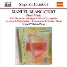 Manuel Blancafort (1897-1987): Sämtliche Klavierwerke Vol.5, CD