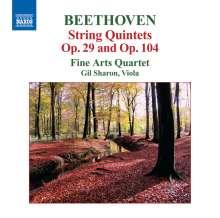 Ludwig van Beethoven (1770-1827): Streichquintette opp.29 & 104, CD