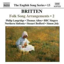 Benjamin Britten (1913-1976): Folk Song Arrangements 2, CD