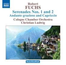 Robert Fuchs (1847-1927): Serenaden für Streicher Nr.1 & 2 (opp.9 & 14), CD