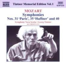 Georg Tintner Memorial Edition Vol.1, CD
