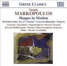 "Yannis Markopoulos (geb. 1939): Klavierkonzert ""Shapes in Motion"", CD"