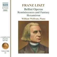 Franz Liszt (1811-1886): Klavierwerke Vol.31, CD