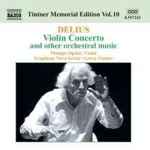 Frederick Delius (1862-1934): Violinkonzert, CD