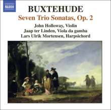 Dieterich Buxtehude (1637-1707): Sämtliche Kammermusik Vol.2, CD