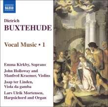 Dieterich Buxtehude (1637-1707): Vokalmusik Vol.1, CD