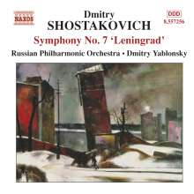 "Dimitri Schostakowitsch (1906-1975): Symphonie Nr.7 ""Leningrad"", CD"
