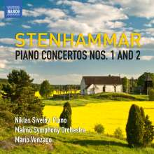 Wilhelm Stenhammar (1871-1927): Klavierkonzerte Nr.1 & 2, CD