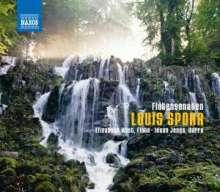 Louis Spohr (1784-1859): Sonaten für Flöte & Harfe opp.16,113,114, CD