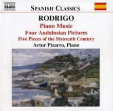 Joaquin Rodrigo (1901-1999): Klavierwerke Vol.1, CD