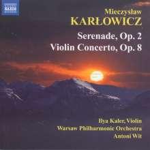 Mieczyslaw Karlowicz (1876-1909): Serenade op.2, CD
