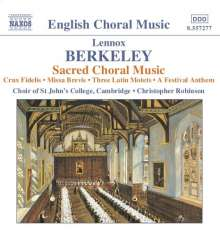 Lennox Berkeley (1903-1989): Geistliche Chorwerke, CD