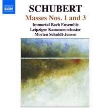 Franz Schubert (1797-1828): Messen D.105 & 324, CD