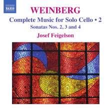 Mieczyslaw Weinberg (1919-1996): Sämtliche Werke für Cello solo Vol.2, CD