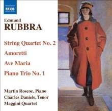 Edmund Rubbra (1901-1986): Streichquartett Nr.2, CD