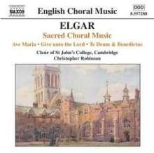 Edward Elgar (1857-1934): Geistliche Chorwerke, CD
