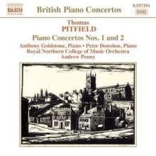 Thomas Pitfield (1903-1999): Klavierkonzerte Nr.1 & 2, CD