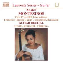 Anabel Montesinos - Guitar Recital, CD