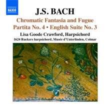 Johann Sebastian Bach (1685-1750): Chromatische Fantasie & Fuge BWV 903, CD