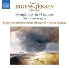 Irgens-Jensen (1894-1969): Symphonie d-moll, CD