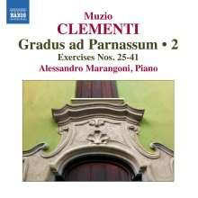 Muzio Clementi (1752-1832): Gradus ad Parnassum op.44 Vol.2, CD