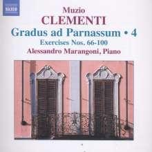 Muzio Clementi (1752-1832): Gradus ad Parnassum op.44 Vol.4, CD