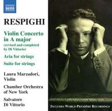 Ottorino Respighi (1879-1936): Violinkonzert A-Dur, CD